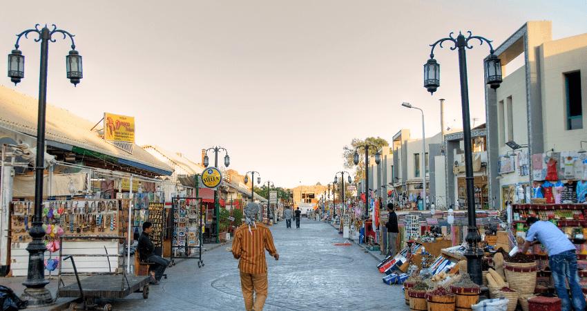 Sharm market