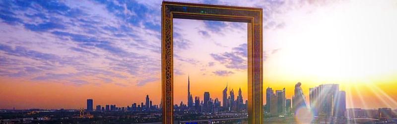 Classic Dubai with Frame