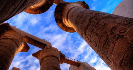 Columnas Templo Karnak