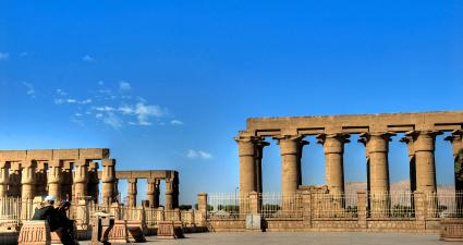Exterior Templo de Luxor