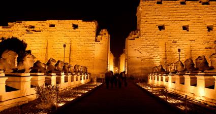 Entrada Templo Karnak