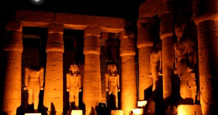 Columnas Luz y Sonido Karnak