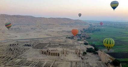 hot air ballons ride