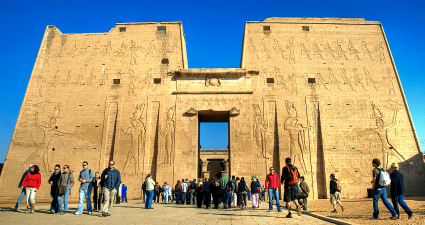 Fachada Templo de Edfu