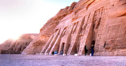 Entrada Templos de Nefertari