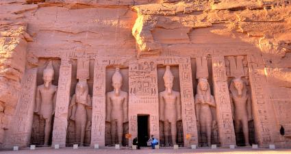 Entrada a Templos de Nefertari