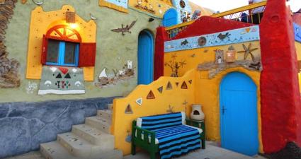Casas del Poblado Nubio