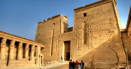 Entrada al Templo de Filae
