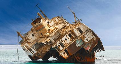 Naufragio de la isla de Tiran