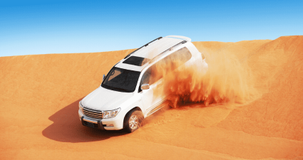 4x4 desert safari