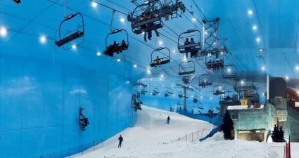 Telesilla Ski Dubai