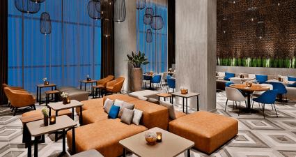 The Courtyard by Marriott Al Barsha lounge