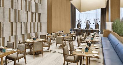 The Courtyard by Marriott Al Barsha restaurant