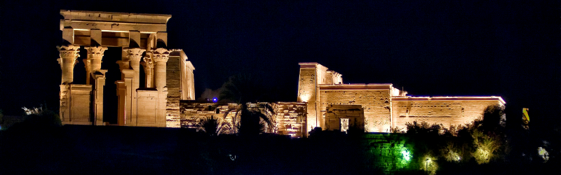 Sound & Light Show in Philae Temple