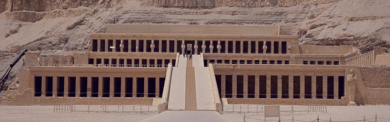 Valle de los Reyes, Hatchepsut y Colosos de Memnon