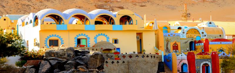 Visita al Poblado Nubio