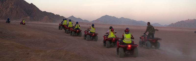 Quads & Cena Bedouina