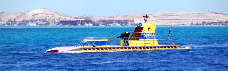 Excursión en Submarino Sindbad