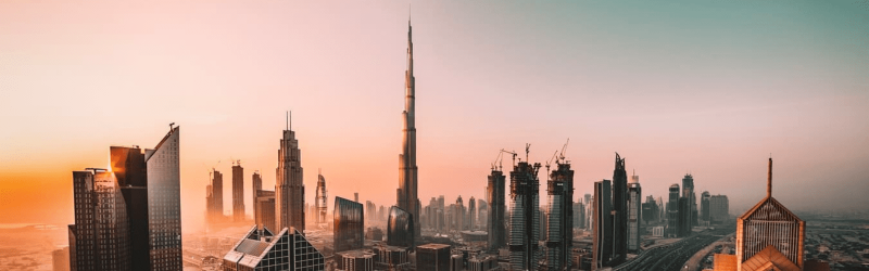 Entrance Burj Khalifa Observatory