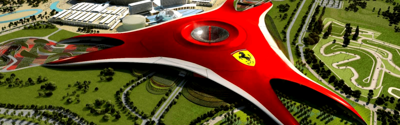 Entrada a Ferrari World